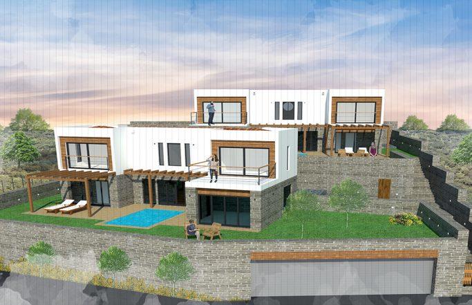 Sarıca Evleri